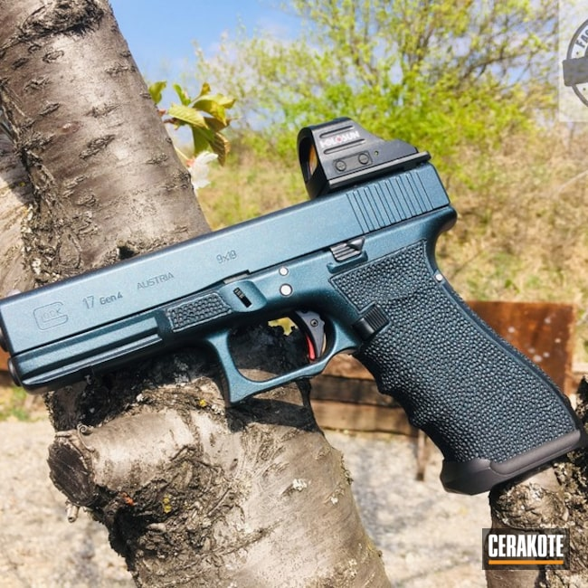 "Thumbnail image for project ""Glock 17 in a Gun Candy and Cerakote Finish"""