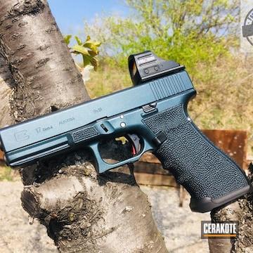Cerakoted Glock 17 In A Gun Candy And Cerakote Finish
