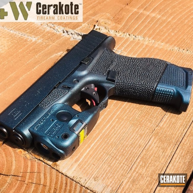 "Thumbnail image for project ""Cerakote with Gun Candy on this Glock 43 Handgun"""