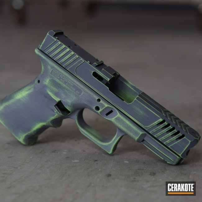 "Thumbnail image for project ""Glock Handgun done in Cerakote H-210 and H-168"""