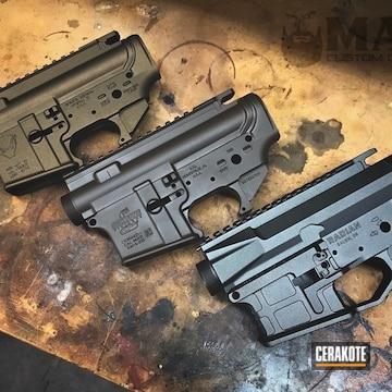 Cerakoted Daniel Defense Mil Spec + Bushmaster Set
