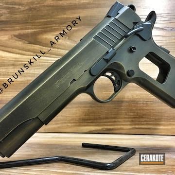 Cerakoted Distressed Para-ordnance Handgun
