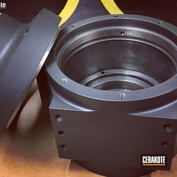 Cerakoted Industrial Bearing With A Cerakote H-295 Finish