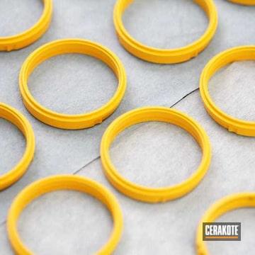 Cerakoted E-166 Electric Yellow