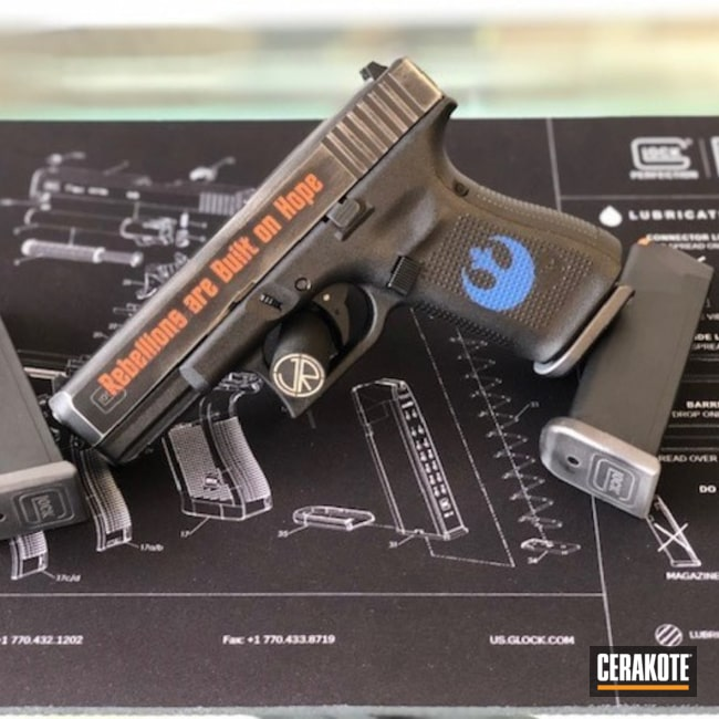 "Thumbnail image for project ""Star Wars Themed Glock Handgun"""