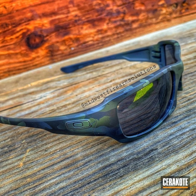 Custom Cerakoted Oakley Sunglasses