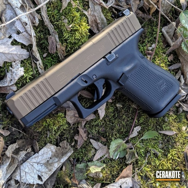 "Thumbnail image for project ""Glock Handgun with Cerakote H-148 Burnt Bronze"""
