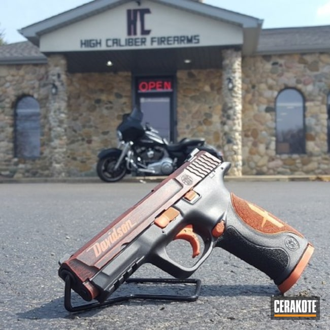 Harley Davidson Themed Smith & Wesson Pistol