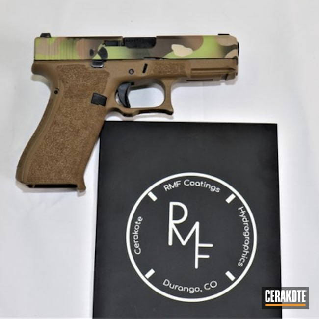 "Thumbnail image for project ""Glock Handgun with a Custom Cerakote MultiCam Finish"""