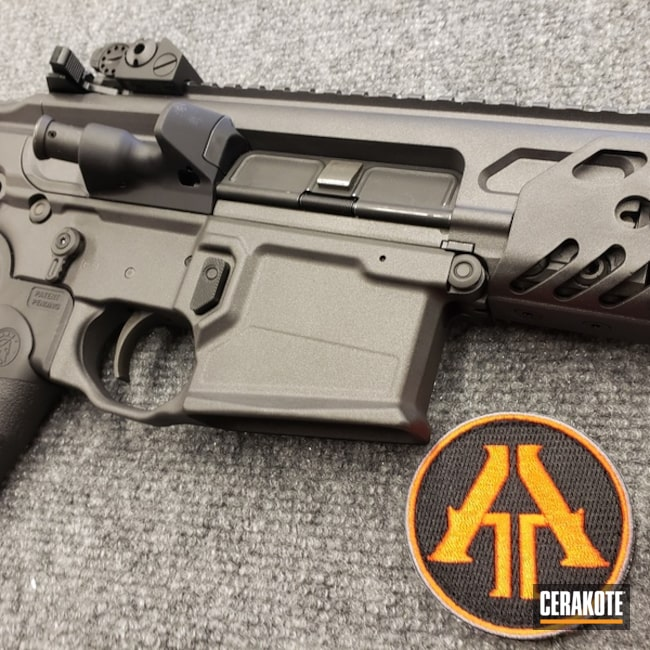 Sig MCX Tactical Rifle with Cerakote H-112 Cobalt