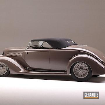 Cerakoted Complete Car Build Featuring Cerakote H-237 And H-219