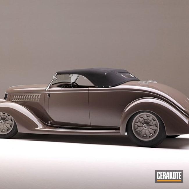 Cerakoted: Antique,Tungsten H-237,Gun Metal Grey H-219,More Than Guns,Automotive