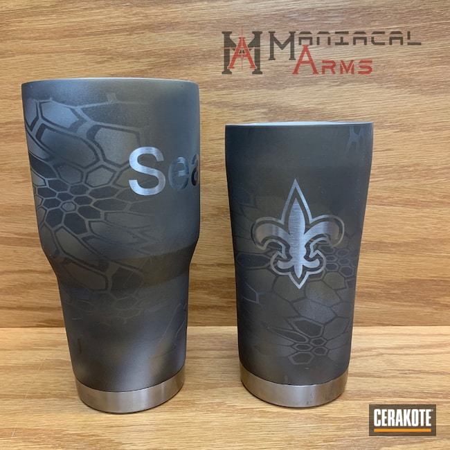 "Thumbnail image for project ""Tumbler Cup with a Custom Cerakote Kryptek Finish"""