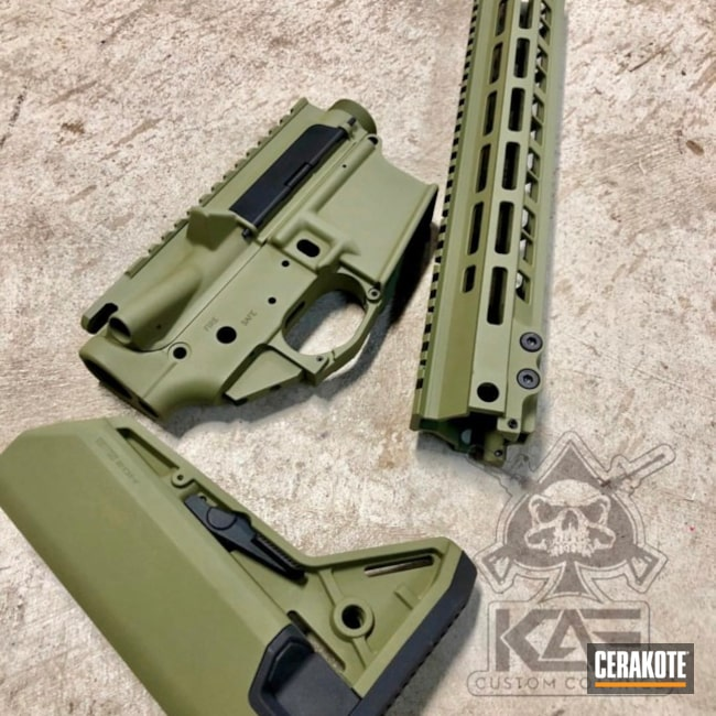 Upper / Lower / Handguard in Cerakote H-189