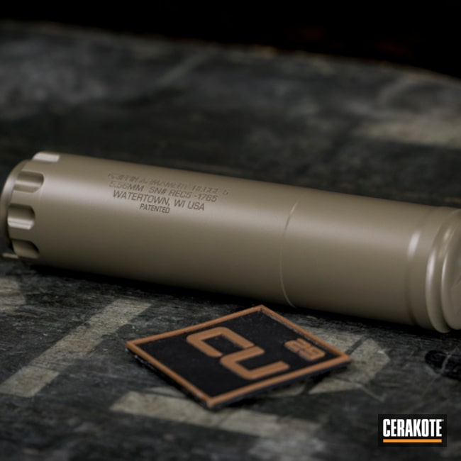"Thumbnail image for project ""Suppressor done in C-267 MagPul Flat Dark Earth"""