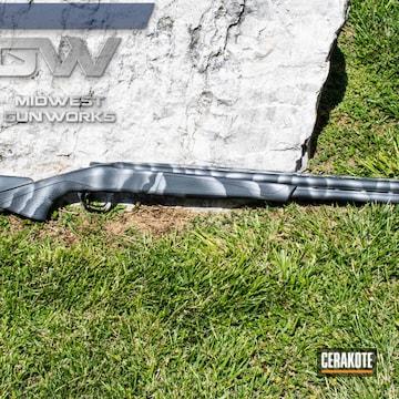 Cerakoted Overunder Duck Gun With Cerakote H-151 And Sniper Grey