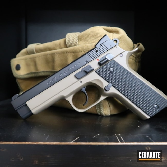 "Thumbnail image for project ""CZ 40 B with Cerakote E-100 and E-200"""