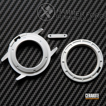 Cerakoted Custom Watch Parts With A Cerakote H-136 Finish
