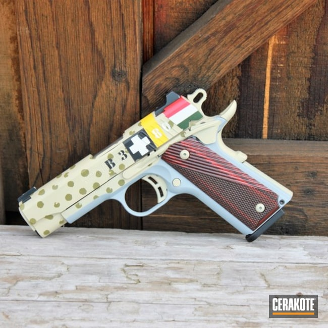 WWII Themed Browning 1911 Handgun