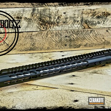 Cerakoted Complete Upper Receiver With Cerakote H-146, H-158 And H-128