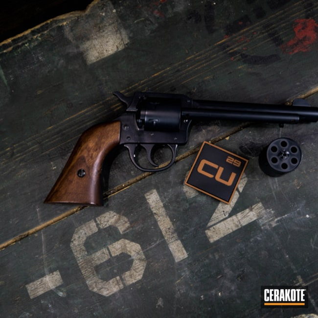 "Thumbnail image for project ""Revolver finished with E-110 Midnight"""