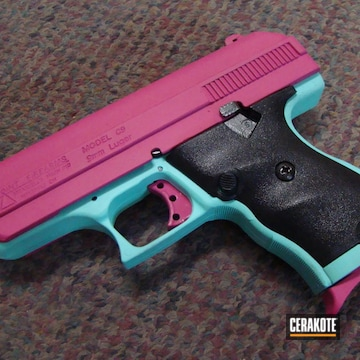 Cerakoted Hi-point Handgun Coated With Cerakote H-175 And H-224
