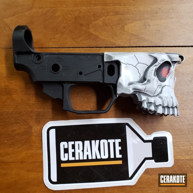 Spike's Tactical Lower Receiver The Jack with a Custom Cerakote Finish