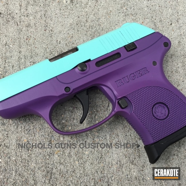Two Toned Ruger Handgun