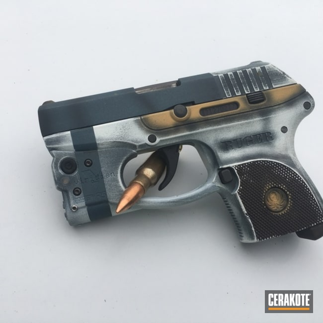 Steampunk Finished Ruger Handgun