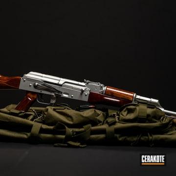 Cerakoted H-109 Gloss Black And H-158 Shimmer Aluminum