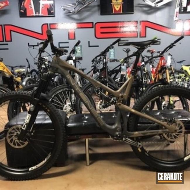 Cerakoted: Mountain Bike,Graphite Black H-146,Bicycle,Burnt Bronze H-148,More Than Guns