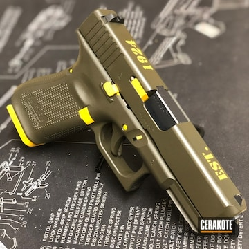 Cerakoted Border Patrol Glock