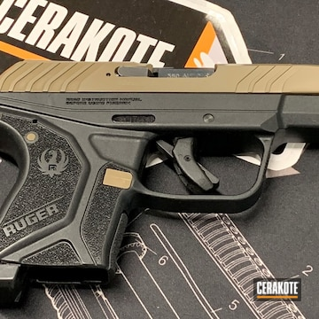 Cerakoted Two Tone Ruger Lcp Ii