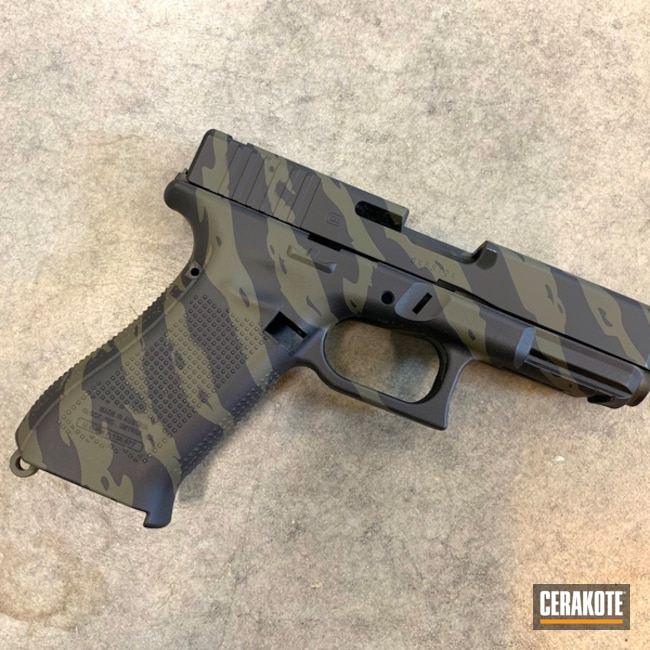 "Thumbnail image for project ""Tiger Stripe Glock"""