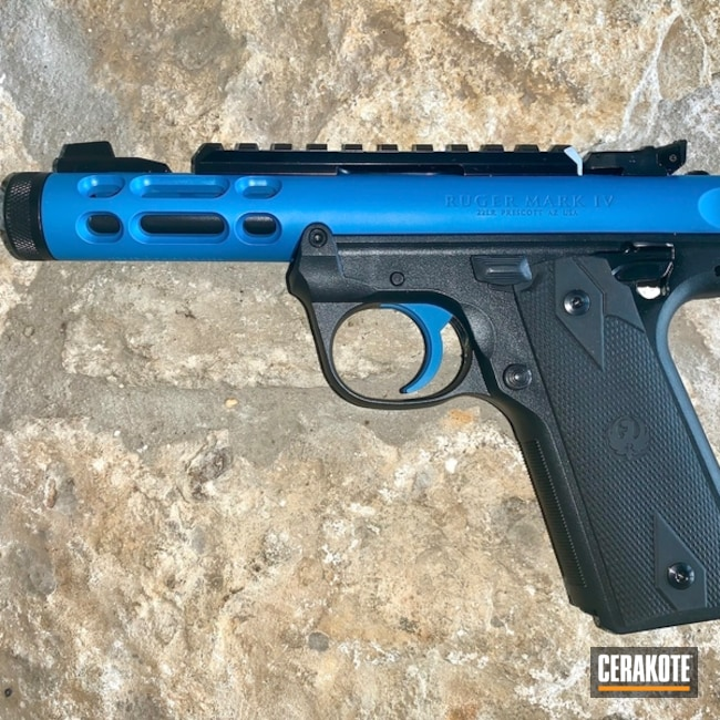"Thumbnail image for project ""Ruger Pistol with Ridgeway Blue"""