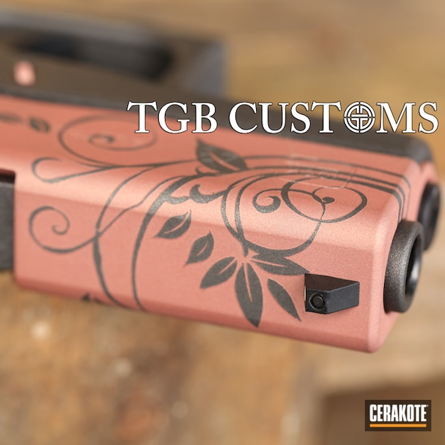 "Thumbnail image for project ""Custom Rose Colored Glock"""