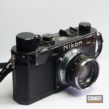 Cerakoted Restored Nikon S Camera