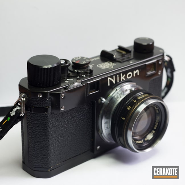 Cerakoted Restored Nikon S Camera