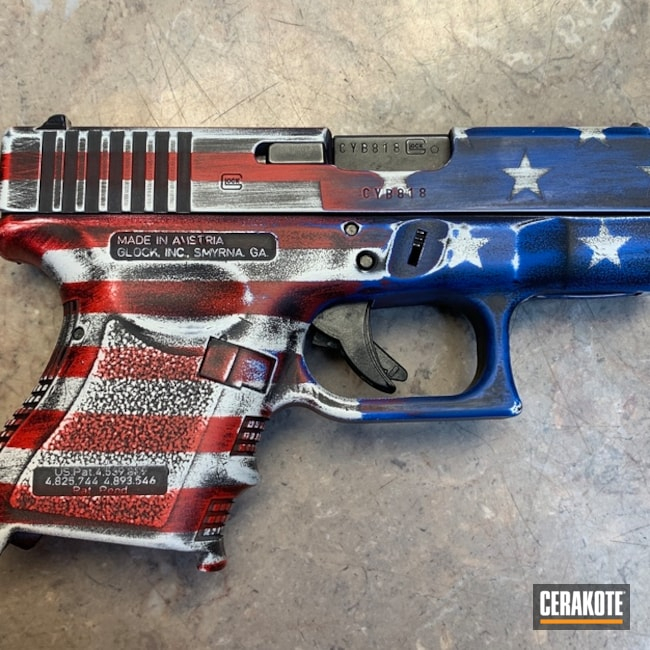 American Flag Themed Glock