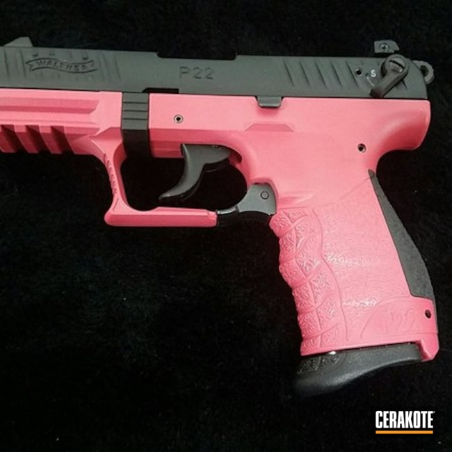 "Thumbnail image for project ""Walther with a Custom Mix Color"""