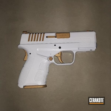Cerakoted Two Toned Springfield Hds