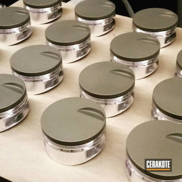 Cerakoted Cerakoted Pistons Using Piston Coat V-136