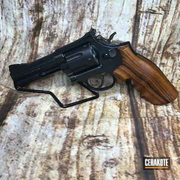 Cerakoted .357 Magnum Cerakoted With E-110 Midnight