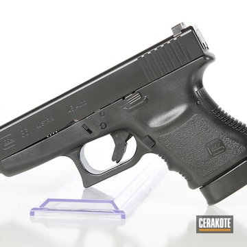 Cerakoted Glock 36 With Elite Blackout