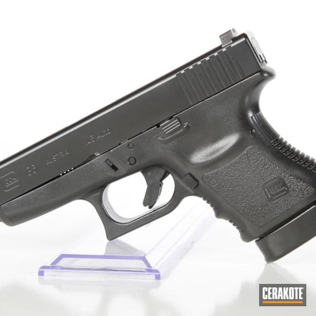 Cerakoted: Cerakote Elite Series,BLACKOUT E-100,Elite Blackout,Glock,Elite,Glock 36