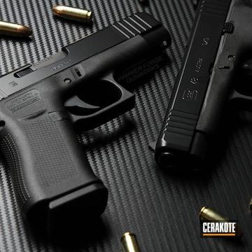 Cerakoted Glock 48 With Elite Blackout
