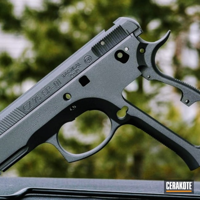 "Thumbnail image for project ""CZ SP01 Frame in Tungsten"""