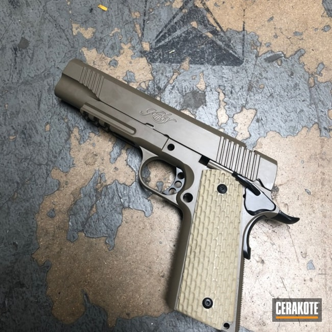 Kimber 1911 in Elite Blackout and FDE