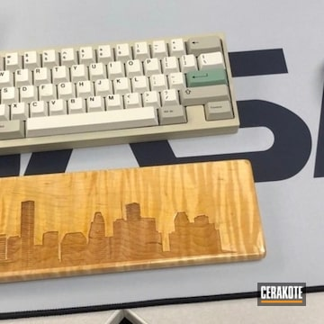 Cerakoted Retro Custom Keyboard