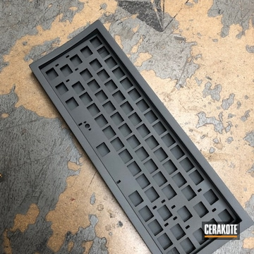 Cerakoted Sniper Grey Keyboard
